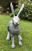 Hare Sculpture - other view by Julie Whitham