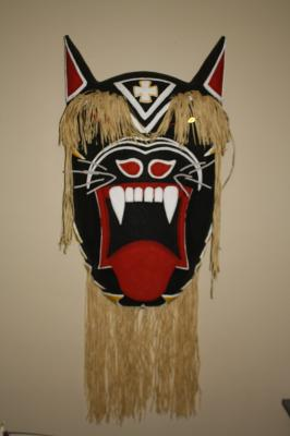 """Large Yaqui mask"" by Ricky Patassini"