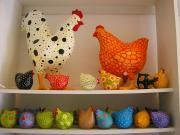Chickens Big and Small by Liat Binyamini Ariel