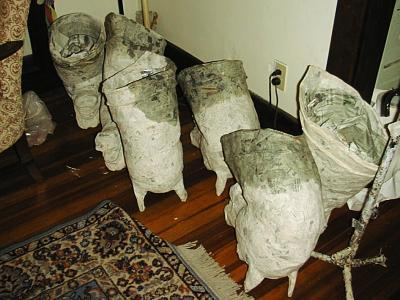 """Horse Heads Drying.....  (Click for details)"" by Patience"