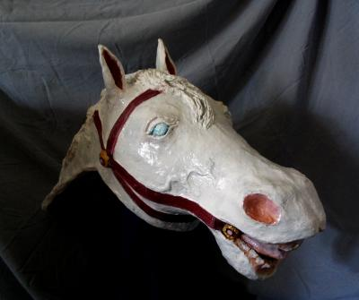 """White Horse Head"" by Patience"