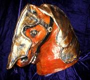 Horse Head with Armor by Patience