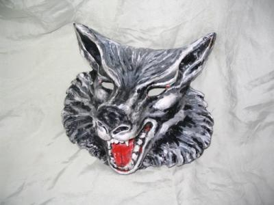 """""Wolf Mask"""" by Patience"