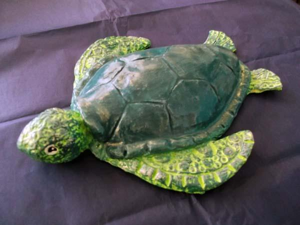 How To Make A Paper Mache Turtle