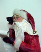 Santa, closer view by Jeanette Malinchok