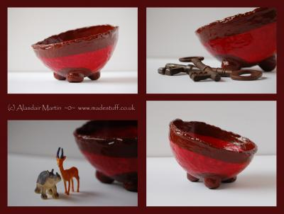 """little red bowl"" by Alasdair Martin"