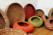 recycled paper baskets 2 by Guy Lougashi