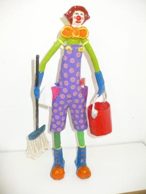 """clown"" by Beatriz Petraru"