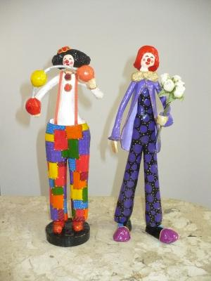 """clowns"" by Beatriz Petraru"