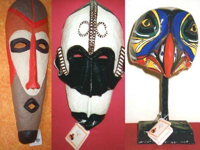 """Masks"" by Claudia Clemente"