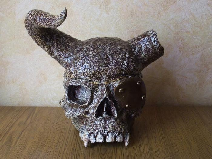 "Skull of my enemy.3."" by Andrey Gavrilov"