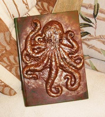 """Octopus. A cover for the book."" by Andrey Gavrilov"