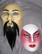 Oriental Gentleman and Chinese Opera Lady by Helen Rich