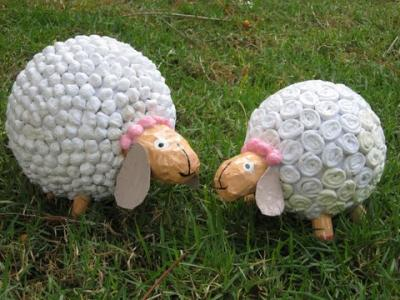 """sheeps"" by Shulamith Cohanim"