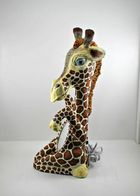 """Giraffe two"" by Philip Bell"