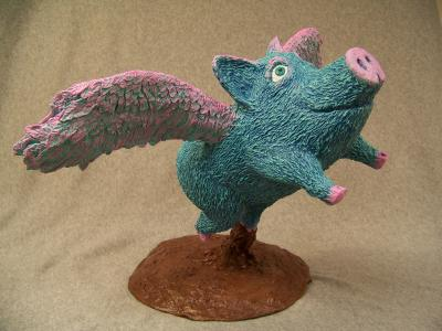 """When Pigs Fly"" by Philip Bell"
