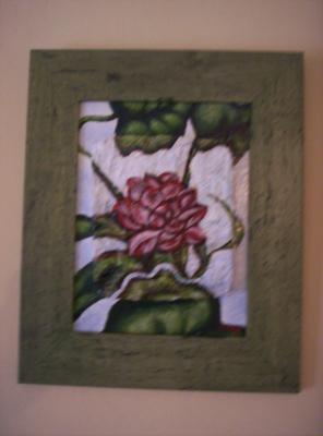 """Painting of Lotus Flower"" by Michelle Isava"
