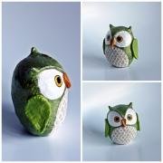 Little Green Owl by Holly St.Denis