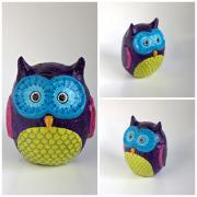 Purple Owl by Holly St.Denis