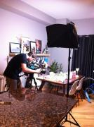 My TV Interview by Holly St.Denis