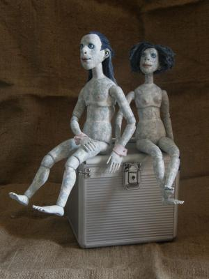 """ball-jointed dolls"" by Olena Tsilujko"