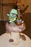 "Hookah-smoking Caterpillar-- 24"" x 14"" by Gabriel Paolieri"