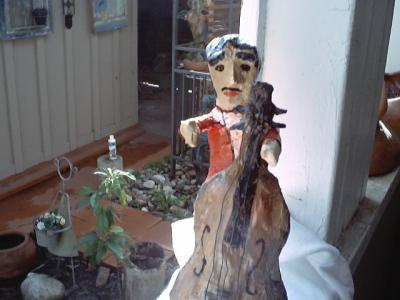 """Bass Player"" by Raul Amparan-Holguin"