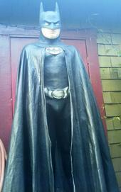 """Life-size Batman"" by Art Lopez"