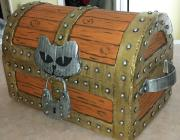 Treasure chest, Coffre au trésor by Johanne Bourget
