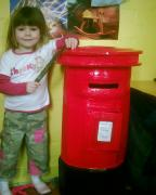 Post box by Vicky McElhinney