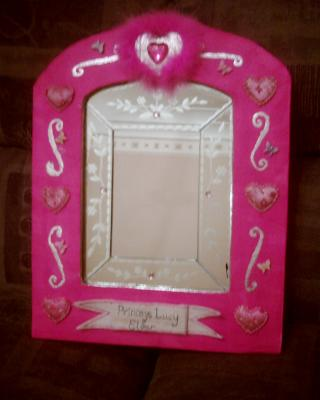 """princess mirror"" by Vicky McElhinney"