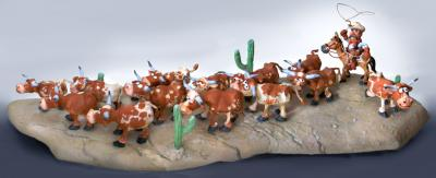 """Cattle Drive"" by Steve Sack"