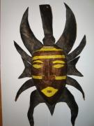 African Mask by Prasun Roy