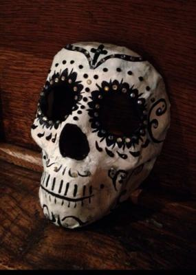 """Skull mask"" by Leah Janss Lafond"