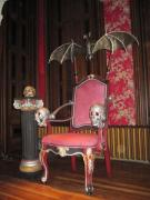 Finished Bat Throne by Karen Stix