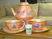 """Honk"" Giant Tea Set by Karen Stix"