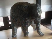 Studded Elephant by Patricia Vallina-Mackie
