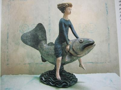"""Woman and Fish"" by Louise Vergette"