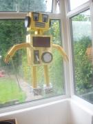 Robot Pinata by Siobhan Gallgher