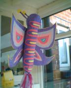 Butterfly pinata by Siobhan Gallgher