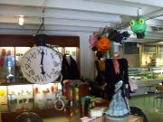 Pinatas in the gallery by Siobhan Gallgher