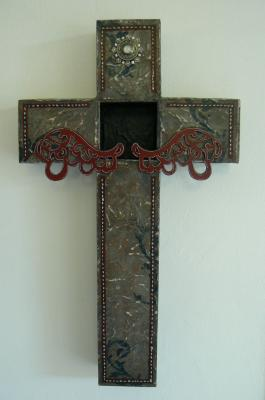 """Cross"" by Belinda Huse"