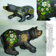 Black Bear (more angles) by Erin Cooper