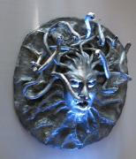 "Interior mask ""Gorgon's Medusa"" by Elena Sashina"