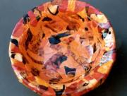 Orange bowl by Alison Day