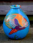 Fish pot by Alison Day