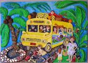Caribbean Bus by Alison Day