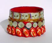 Cat Shell Bangle by Alison Day