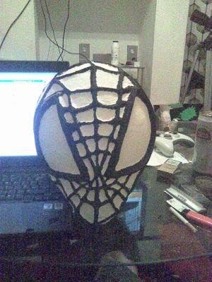 """Spiderman mask"" by Anthony Corrigan"