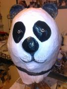 PANDA HEAD MASK by Caz James